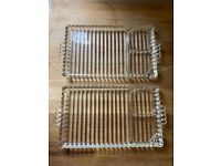 Glass trays