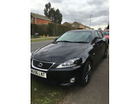 SPECIAL EDITION LEXUS IS 220D BLACK GREAT CONDITION. MOT TILL MARCH 2018. GOOD SERVICE 12/16.