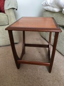 G plan teak side/ end/ lamp table