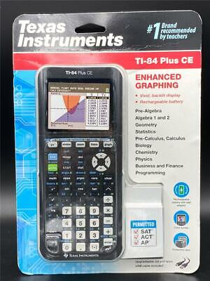 NEW Texas Instruments TI-84 Plus CE Color Graphing Calculato