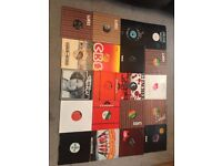 Vinyl records x 140 rock, pop, motown, 70s, 80s, 90s/10 inch lps, all near mint condition
