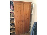 Solid Pine Wardrobes and TV (available separately)