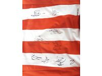 Signed Sunderland Home Shirt 16-17 Signed by Whole Team