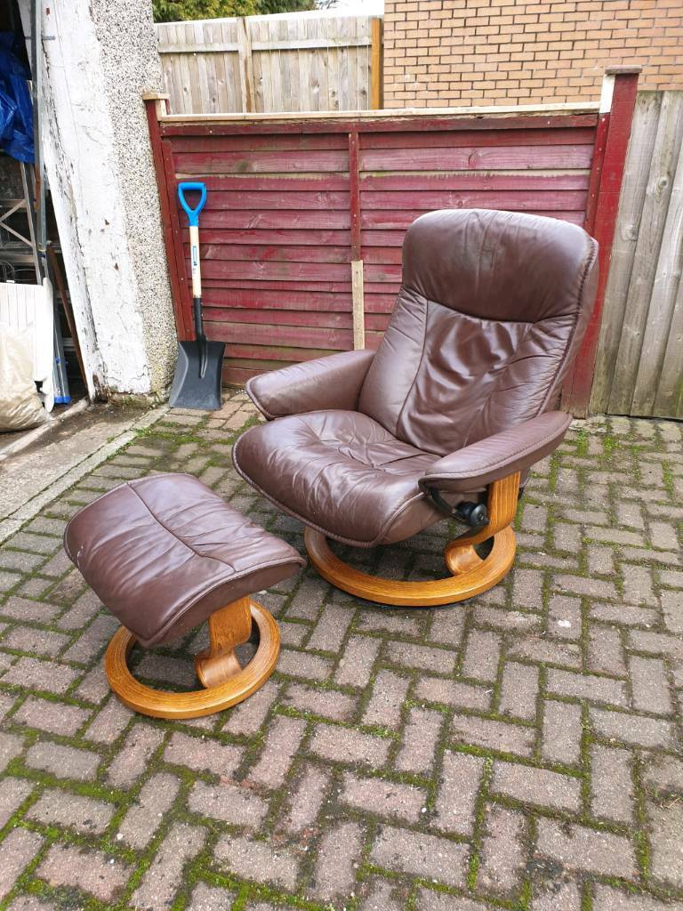 Sold Pending Collection Ekornes Stressless Chair And Stool