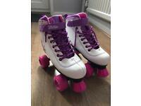 Girls Roller boots / skates size 4
