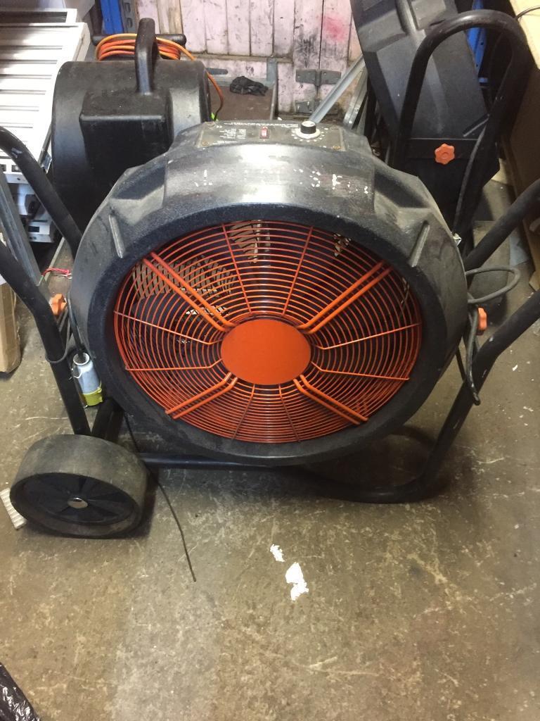 Hydroponics Rhino Model H-Man 115 Industrial Fan - Growing Equipment
