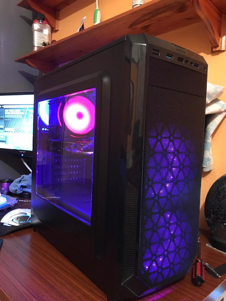 VR Ready RGB Gaming Pc, i7 3770 Cpu, Asus Strix GTX 970 4gb Gpu, 16gb Ram,  240gb SSD  | in Burton Joyce, Nottinghamshire | Gumtree
