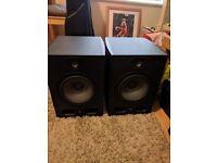 Pair of Focal Alpha 80 Active Studio Monitor Speakers 2-way & 140 Watt