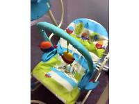 Fisher-Price three in one swing and rocker