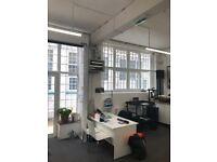 Beautiful light filled workshop studio space / 1477 sqft / North London / Vale Road / N4