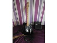 Westwood Electric Guitar and Practice Amplifier