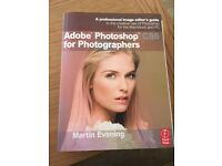 MINT condition - Adobe Photoshop CS6 for Photographers BOOK