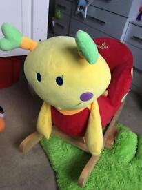 Snail rocking musical Babylo rocking chair