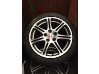 Genuine civic type R EP3 alloy Wheels
