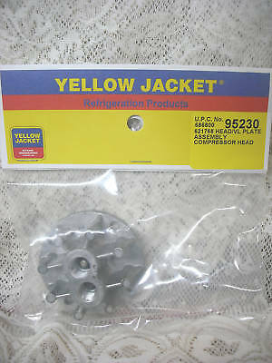 Yellow Jacket Thomas Oil Less Recovery Liquid Head Valve Plate 520ck60 520ck75