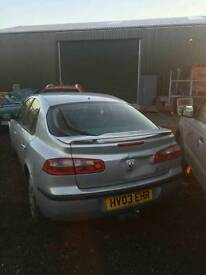 BREAKING Renault Laguna, 2.2DCi, 2004 reg Vehicle