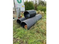 600mm dia twin walled plastic pipe 3m