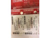 2 tickets For Sale for Beyoncè & Jay-Z's 'On The Run II' Tour at Etihad Stadium, Manchester 13/06/18