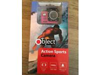 OBJECT ACTION SPORTS CAMERA NEW!