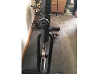 Heavy duty exercise bike. In brand new condition few months old hardly been used.