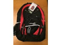 Red and Black Yellowstone 30 Litre Orbit Backpack. Brand New in Packaging.
