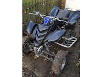 Yamaha raptor 660 off road use only