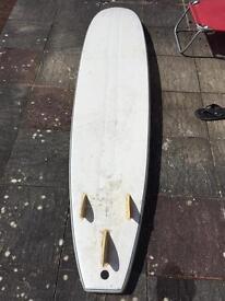 """8'6"""" foamie longboard surfboard"""