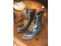 Red wing logger boots size 10