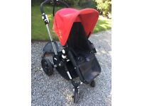 Red bugaboo cameleon 3