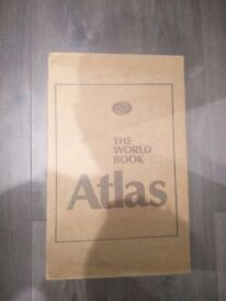 New and boxed The World Book Atlas