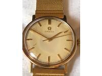Vintage Omega 1960's 9ct Gold