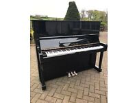 Yamaha U2 black upright piano|Belfast pianos|