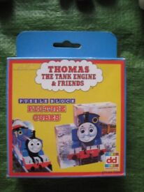 Brand New Thomas The Tank Engine and Friends Puzzle Block Picture Cubes for £5.00