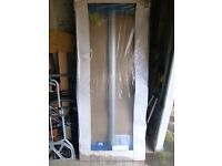 Shower Door, Homebase silver Bi-fold / clear 760mm .New in box.