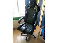 "Deluxe Racing seat sports gaming armchair ""Monaco"""