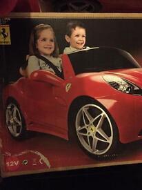 Ferrari 12v battery operated car