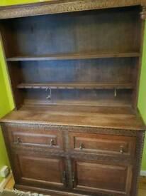 Wooden dresser for sale!
