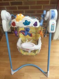 Fisher price flutterbyes baby swing