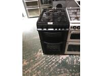 Logik black gas cooker free deilvery