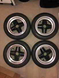 Revolution 13x5.5 Alloy Wheels and Goodyear Tyres