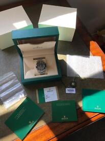 Rolex Submariner non date 114060 with stickers