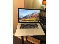 MacBook Pro i7 (15-inch Mid 2012) 500gb 4gb ram
