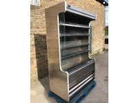 caravell multideck open chiller fridge