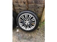 "18""Inch alloy wheels Good tyres"