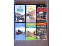 Railway VHS Video Tapes