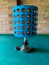 Tall touch lamp