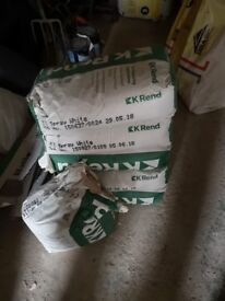 5 and half bags of White K Rend