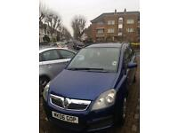Vauxhall Zafira 06 reduced £795