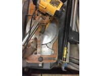 Dewalt chop saw and stand