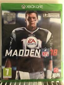Madden 18 Xbox one